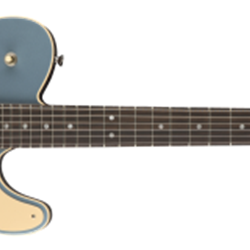 Fender Limited Edition Troublemaker Tele Deluxe, Rosewood Fingerboard, Ice Blue Metallic